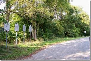 Gettysburg Campaign, Marker B-32 along U.S. Route 50