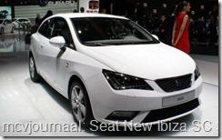 2012 Autosalon Geneve - Seat New Ibiza SC Style