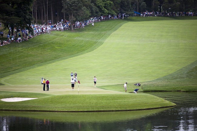 18th at 2011 US Open