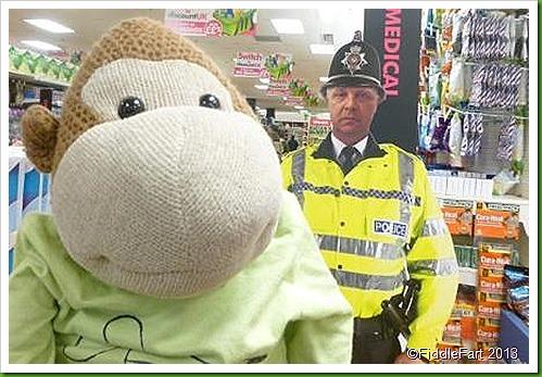 life size policeman
