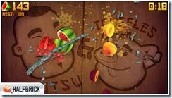 لعبة تقطيع الفواكه Fruit Ninja Free للأيفون والأيباد - 2