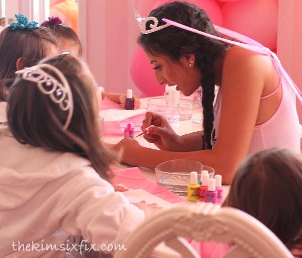 Princess manicures