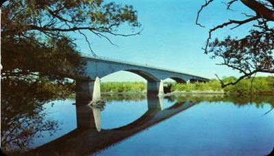 Choele - Choel (Río Negro) Puente Carretero sobre el Río Negro - Ruta 250
