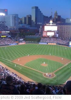 'Oriole Park at Camden Yards' photo (c) 2009, Jed Scattergood - license: http://creativecommons.org/licenses/by-nd/2.0/