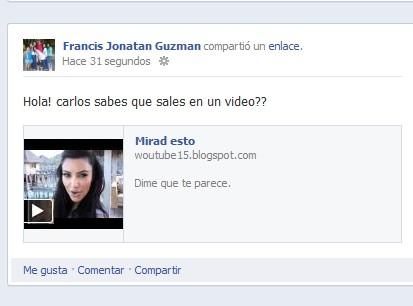 Facebook publicando videos falsos
