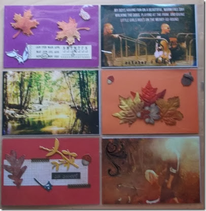 a Fall day Project Life by Tristine Denise