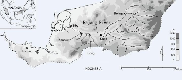 図1 研究対象地域 / Fig. 1 Research region