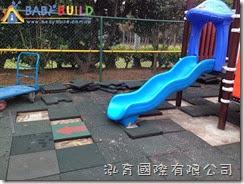 橡膠地墊填補更新