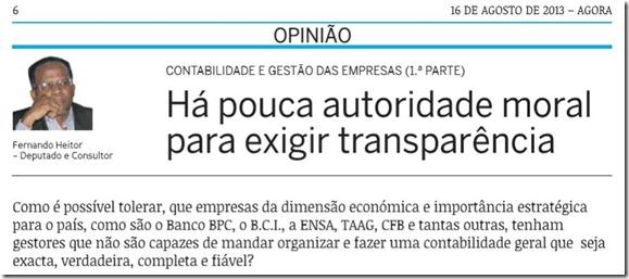 Autoridade moral em Angola - QUEM E' QUEM