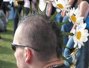 rambut bunga