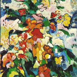 Vlaminck, Flowers (aka Symphony in Colors) 1907
