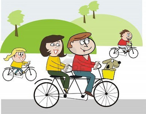 Free Clipart Bike Riding