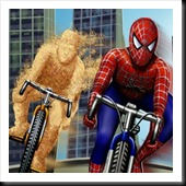 jogos-do-homem-aranha-Spiderman VS Sandman