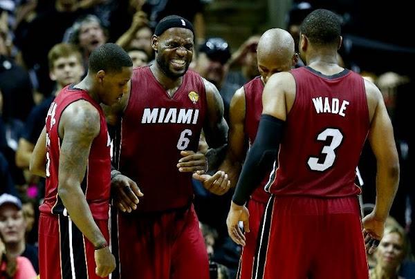 LeBron Cramps Up As San Antonio Wins the NBA Finals Opener