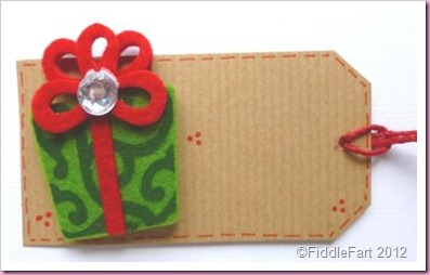 Kraft Christmas Parcel tags Crafts