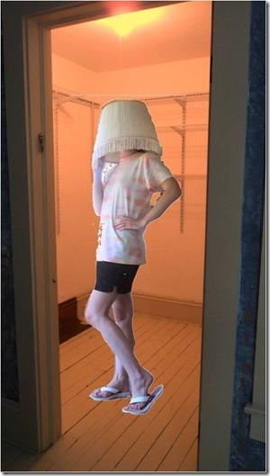 lampshade closet