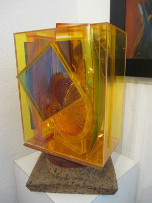 Joslin 65 acrylic sculpture