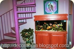 Аквариум в декоре интерьера дома