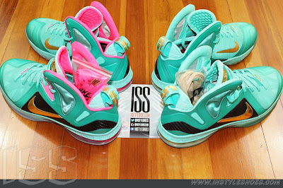 nike lebron 9 ps elite statue of liberty pe 3 01 Nike LeBron 9 PS Elite Statue of Liberty PE Has a Twin!