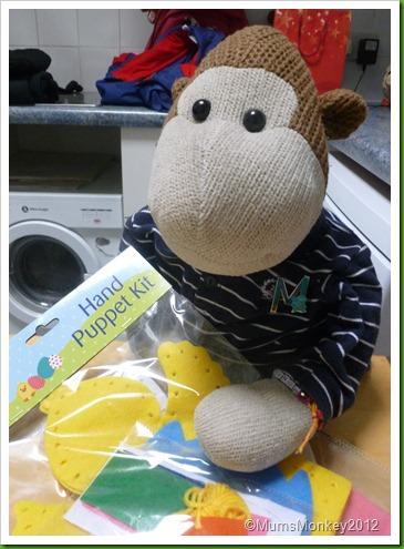 Poundland Hand puppet kit