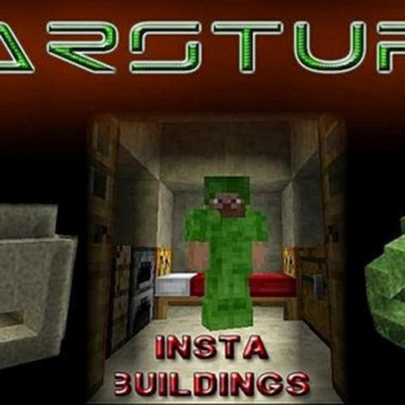 Minecraft 1.6.2 - WarStuff Mod (tende e bunker)