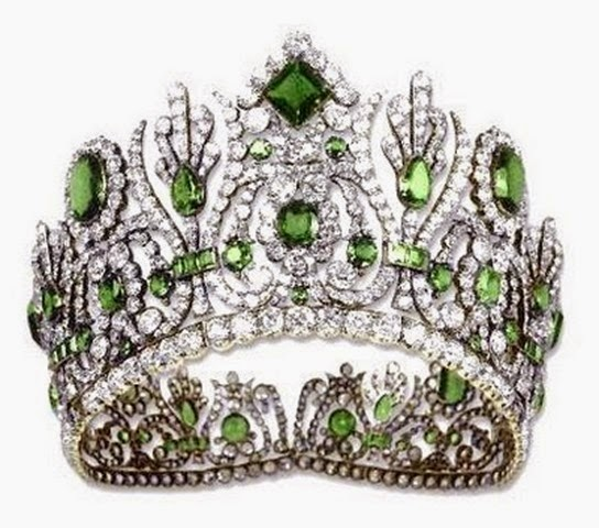 La diadema de esmeraldas de la emperatriz María Luisa