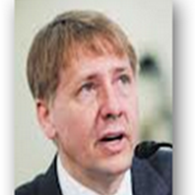 "Richard Cordray, Fail With Understanding Flawed Models and Algorithms -Big Case of""Algo Duping""With Big Data-Save Time, Hire Quants Who Know How Consumer Financial Models Are Built and Function…Geez"