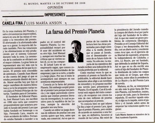 LafarsadelPremioPlaneta-LusMaraAnso