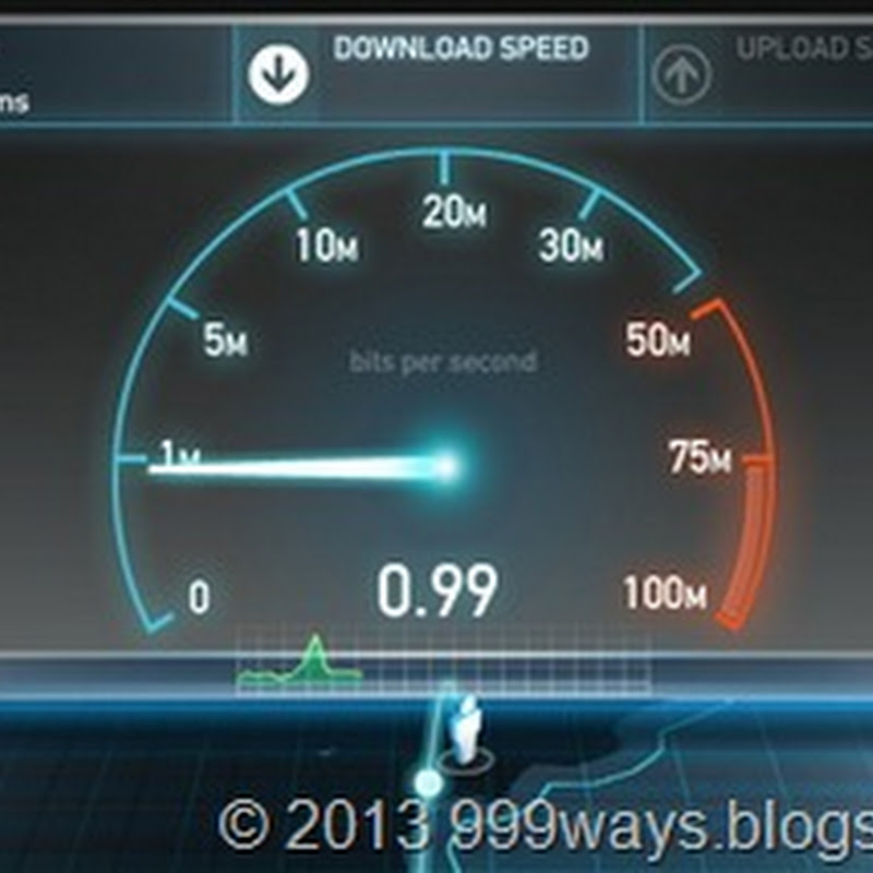 How  to check Internet Speed