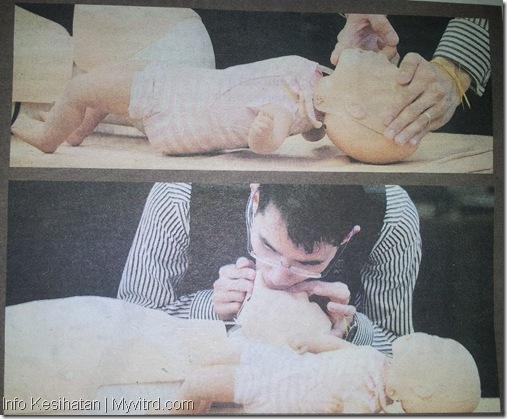 Bantuan CPR pada Bayi