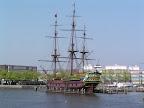 Το πλοίο Amsterdam στο μουσείο