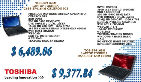 Promo Toshiba