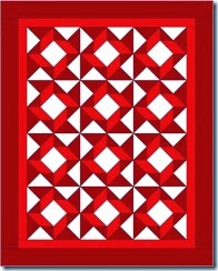 accuquilt mix and match red and white3