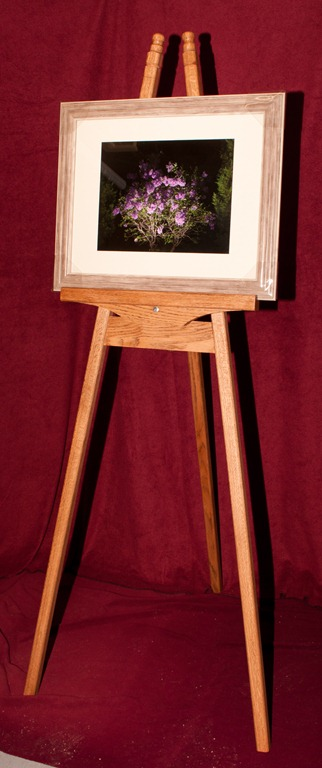 Oak Easel Final and picture