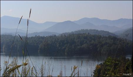 Scenic overlook North Carolina