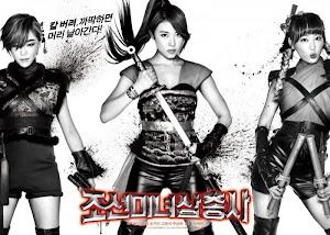 Ba Nữ Kiếm Khách Xinh Đẹp Thời Chosun