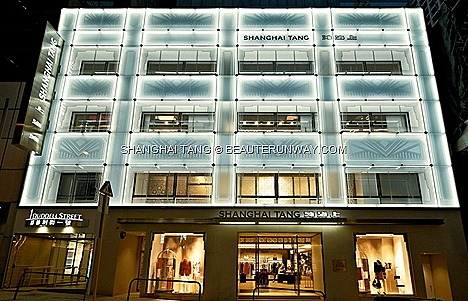 THE SHANGHAI TANG MANSION FLAGSHIP HONG KONG 1 DUDDELL STREET SPRING SUMMER 2012 Women ready to wear dress jackets accessories bags shoes Men's Wear shirt pants suit imperial taloring Kid's fagrance bar Shanghai Tang Polo collection homeware