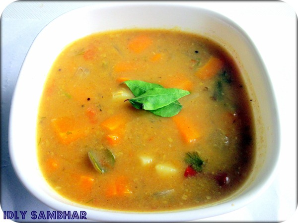IDLY SAMBHAR NEIGHBOR
