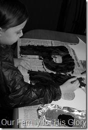 Painting Penguin P