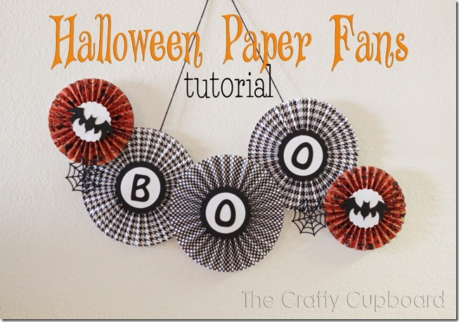 Paper Fans Tutorial