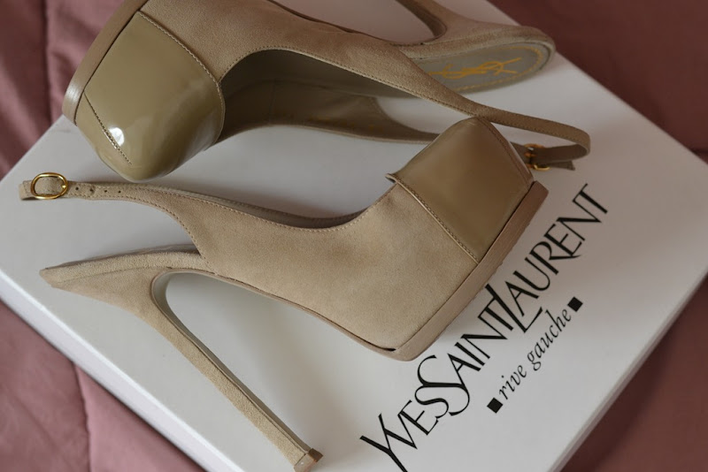 YSL, Yves Saint Laurent Pumps, Trib Too Slingbak, Tribtoo