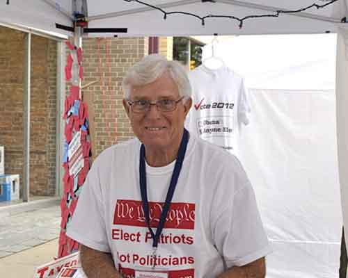 another great volunteer - Glenn N.