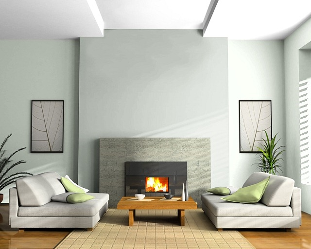 Two tone fireplace wall...good/bad idea? — thenest