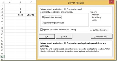 Goal Seek in Excel - Solver Solution