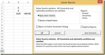 Goal Seek in Excel - Solver Solution