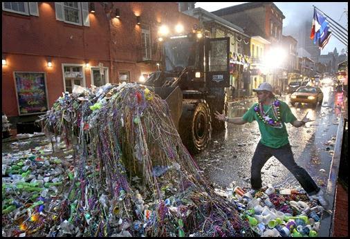 APTOPIX Carnival Mardi Gras