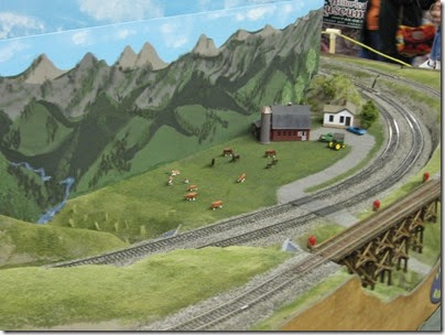 IMG_5365 Farm on the LK&R HO-Scale Layout at the WGH Show in Portland, OR on February 17, 2007