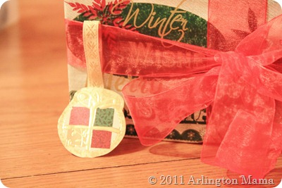 frugal gift wrapping