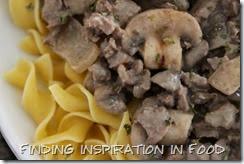 Mushroom Beef Stroganoff