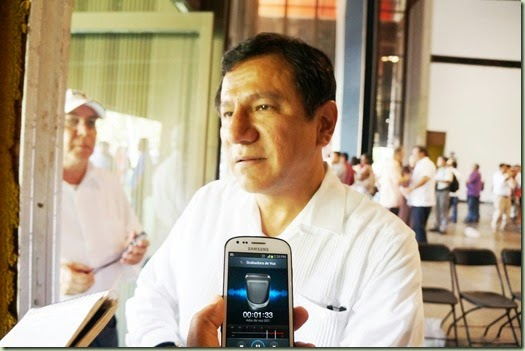 El Diario de la Tarde: Todo bien con Abarca: Lázaro